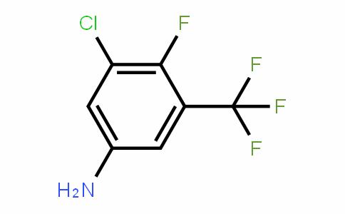3-Chloro-4-fluoro-5-(trifluoromethyl)aniline
