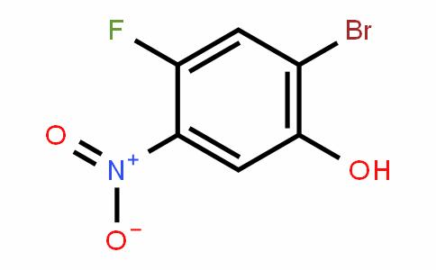2-Bromo-4-fluoro-5-nitrophenol
