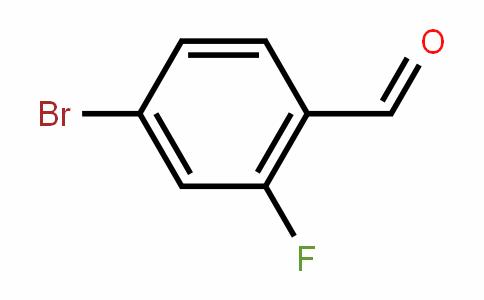 4-Bromo-2-fluorobenzaldehyde