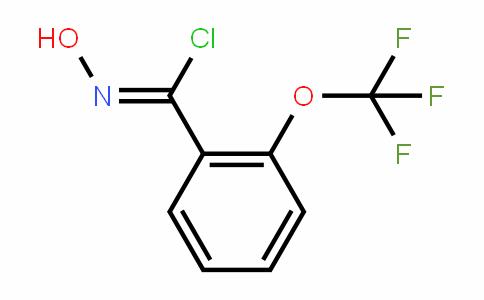 N-hydroxy-2-(trifluoromethoxy)benzene carboximidoyl chloride