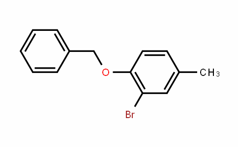 1-Benzyloxy-2-bromo-4-methylbenzene