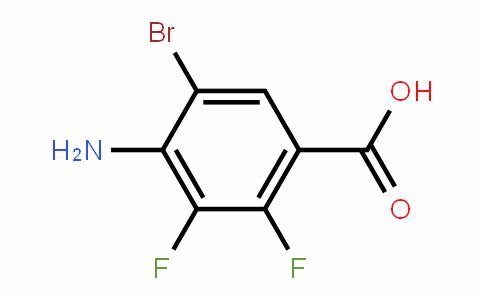 4-Amino-5-bromo-2,3-difluorobenzoic acid