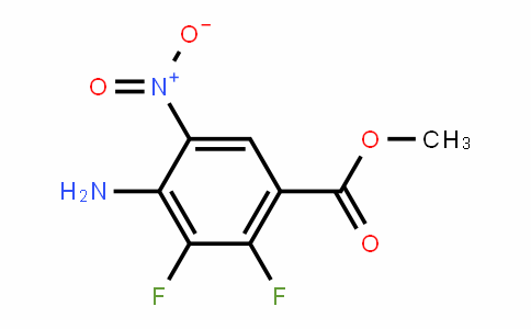 methyl 4-amino-2,3-difluoro-5-nitrobenzoate