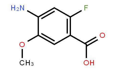 4-Amino-2-fluoro-5-methoxybenzoic acid