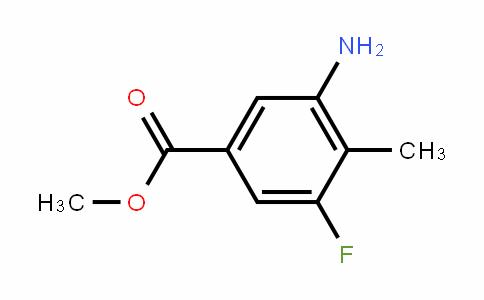 Methyl 3-amino-5-fluoro-4-methylbenzoate