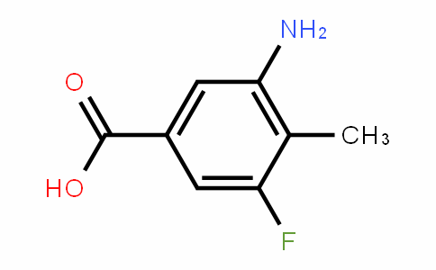 3-amino-5-fluoro-4-methylbenzoic acid