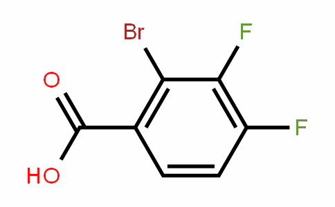 2-Bromo-3,4-difluorobenzoic acid