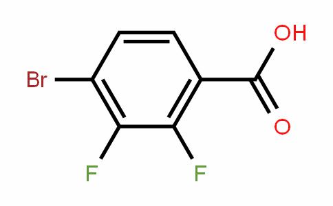 4-Bromo-2,3-difluorobenzoic acid