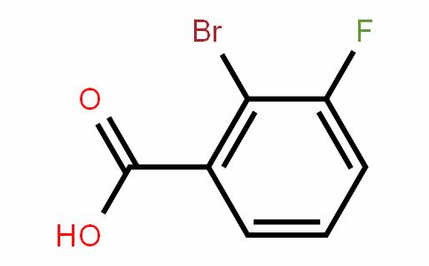 2-Bromo-3-fluorobenzoic acid