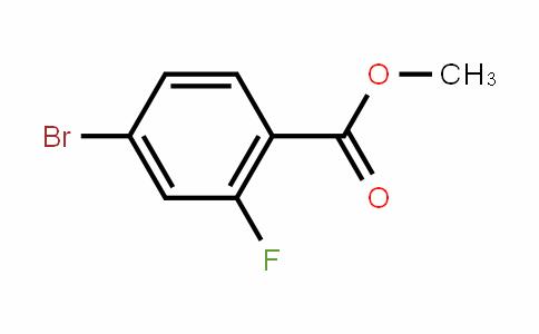 methyl 4-bromo-2-fluorobenzoate