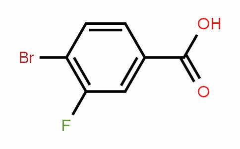 4-Bromo-3-fluorobenzoic acid