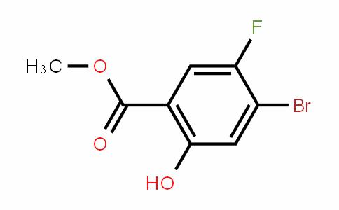 Methyl4-bromo-5-fluoro-2-hydroxybenzoate