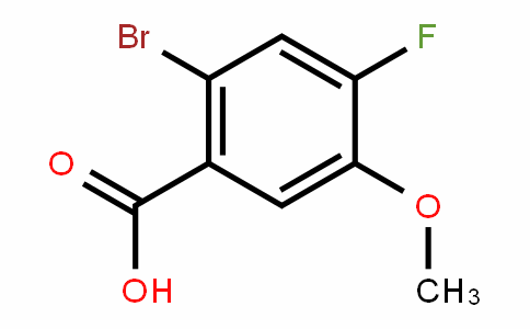 2-Bromo-4-fluoro-5-methoxybenzoic acid