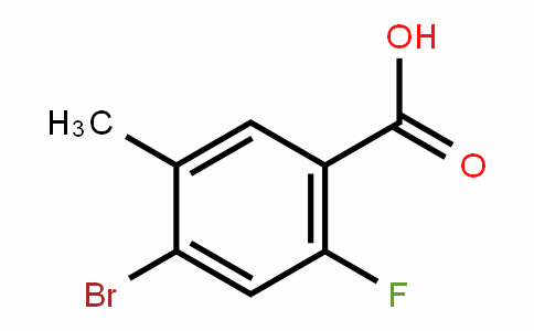 4-Bromo-2-fluoro-5-methylbenzoic acid