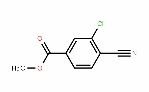 Methyl 3-chloro-4-cyanobenzoate