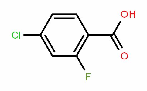 4-氯-2-氟苯甲酸