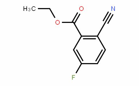 Ethyl2-cyano-5-fluorobenzoate