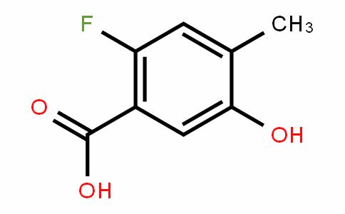 2-fluoro-5-hydroxy-4-methylbenzoic acid