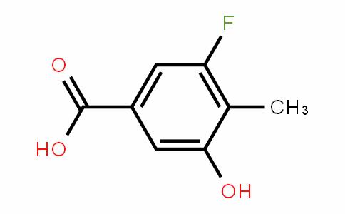 3-Fluoro-4-methyl-5-hydroxybenzoic acid