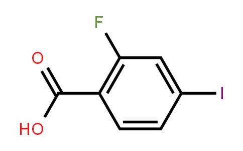 2-Fluoro-4-iodobenzoic acid