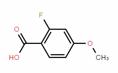 2-Fluoro-4-methoxybenzoic acid