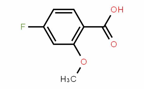 4-Fluoro-2-methoxybenzoic acid
