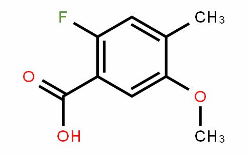 2-Fluoro-5-methoxy-4-methylbenzoic acid