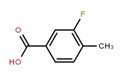 3-Fluoro-4-methylbenzoic acid