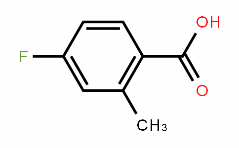 4-Fluoro-2-methylbenzoic acid