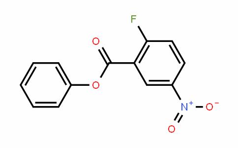 Phenyl 2-fluoro-5-nitrobenzoate