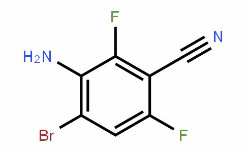 3-Amino-4-bromo-2,6-difluorobenzonitrile