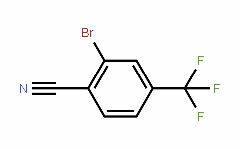 2-Bromo-4-(trifluoromethyl)benzonitrile
