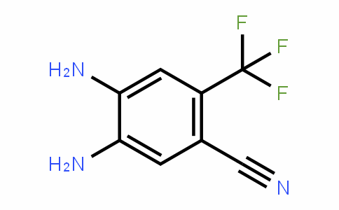 4,5-Diamino-2-(trifluoromethyl)benzonitrile