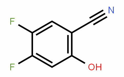 4,5-Difluoro-2-hydroxybenzonitrile