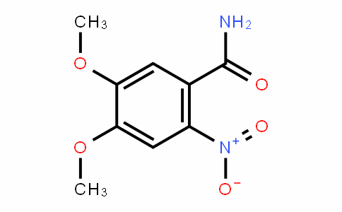 4,5-Dimethoxy-2-nitrobenzamide