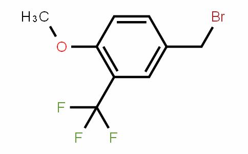 4-Methoxy-3-(trifluoromethyl)benzyl bromide