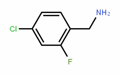 4-Chloro-2-fluorobenzylamine