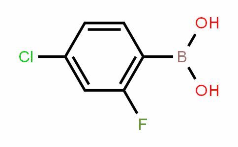 4-Chloro-2-fluorobenzeneboronic acid