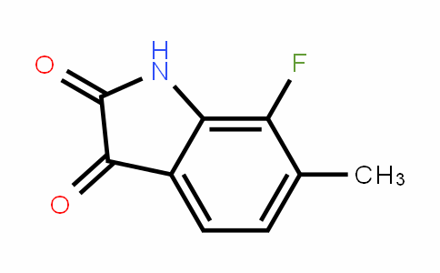 7-Fluoro-6-methylindoline-2,3-dione