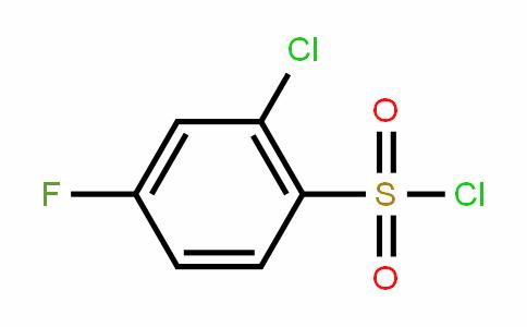 2-Chloro-4-fluorobenzenesulfonyl chloride