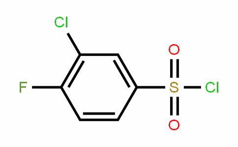 3-Chloro-4-fluorobenzenesulfonyl chloride
