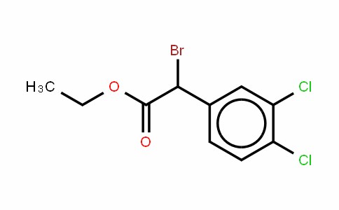 a-Brmo-3,4-dichlorophenylacetic acid ethyl ester