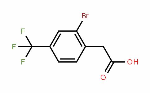 2-bromo-4-(trifluoromethyl)phenylacetic acid