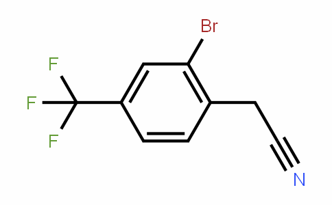 2-bromo-4-(trifluoromethyl)phenylacetonitrile