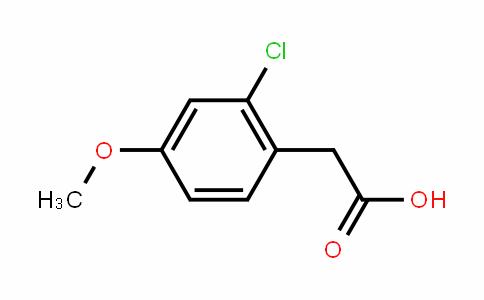 2-Chloro-4-methoxyphenylacetic acid