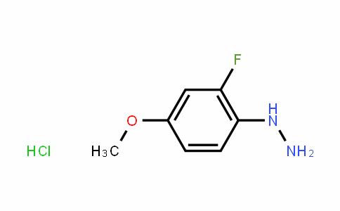 (2-fluoro-4-methoxyphenyl)hydrazine hydrochloride