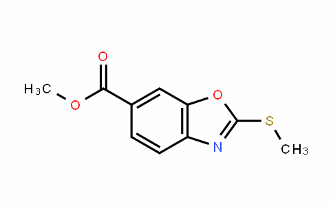 2-Methylsulfanyl-benzooxazole-6-carboxylic acid methyl ester
