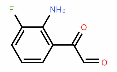 2-(2-Amino-3-fluorophenyl)-2-oxoacetaldehyde