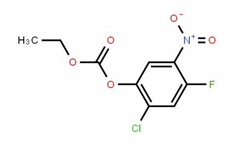 2-chloro-4-fluoro-5-nitrophenyl ethyl carbonate