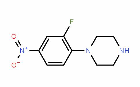 1-(2-Fluoro-4-nitrophenyl)piperazine